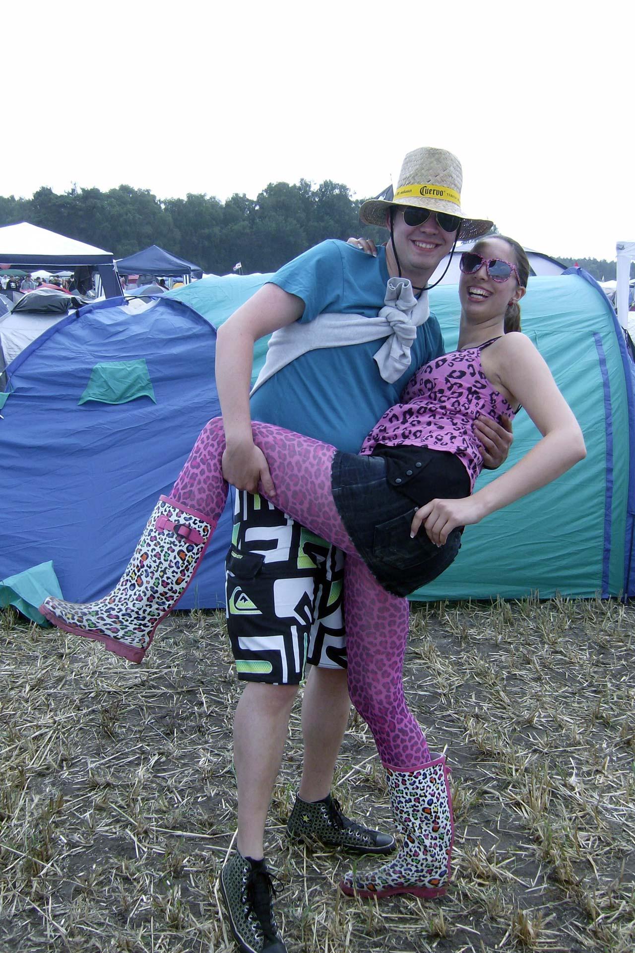 Hurricane Festival 2011: Pinkfarbener Leopard