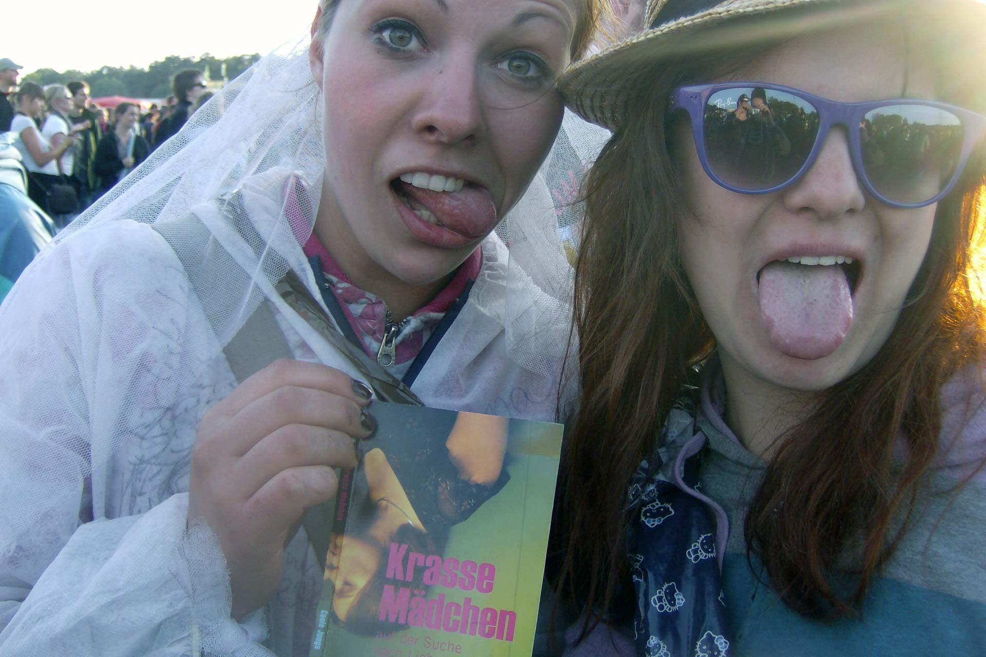 Hurricane Festival 2011: Krasse Mädchen