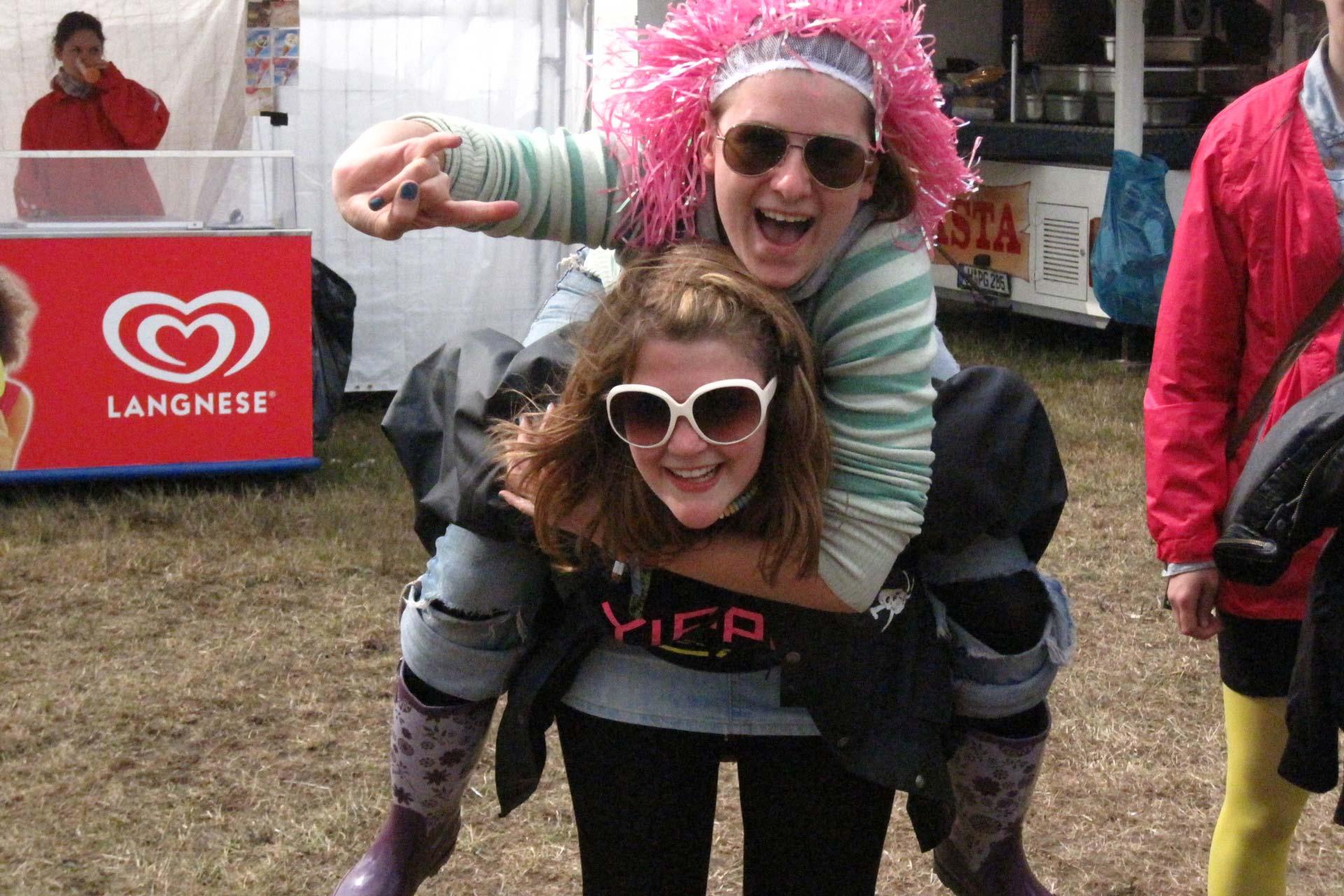 Hurricane Festival 2011: Huckepack
