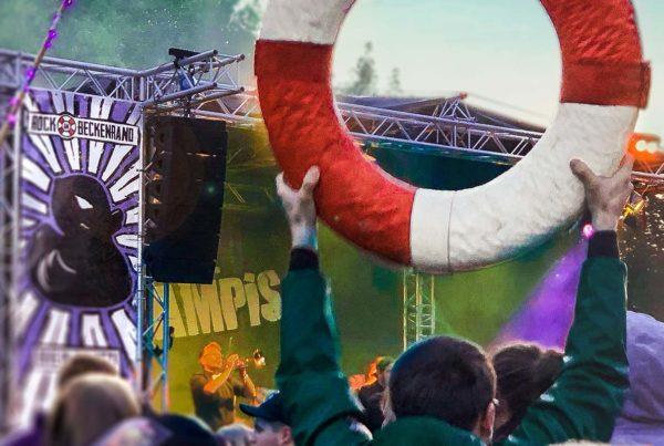 Rock am Beckenrand Festival 2018 in Wolfshagen im Harz
