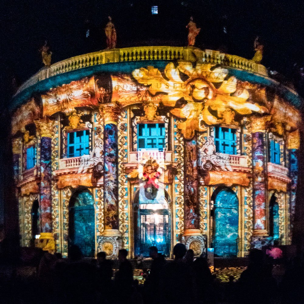 Festival of Lights 2018: Bode-Museum