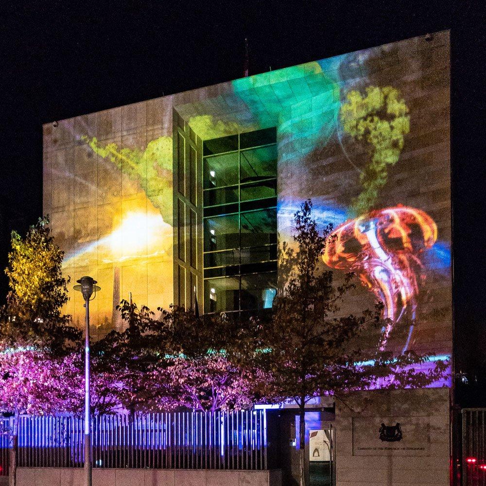 Festival of Lights 2018: Botschaft Singapur E