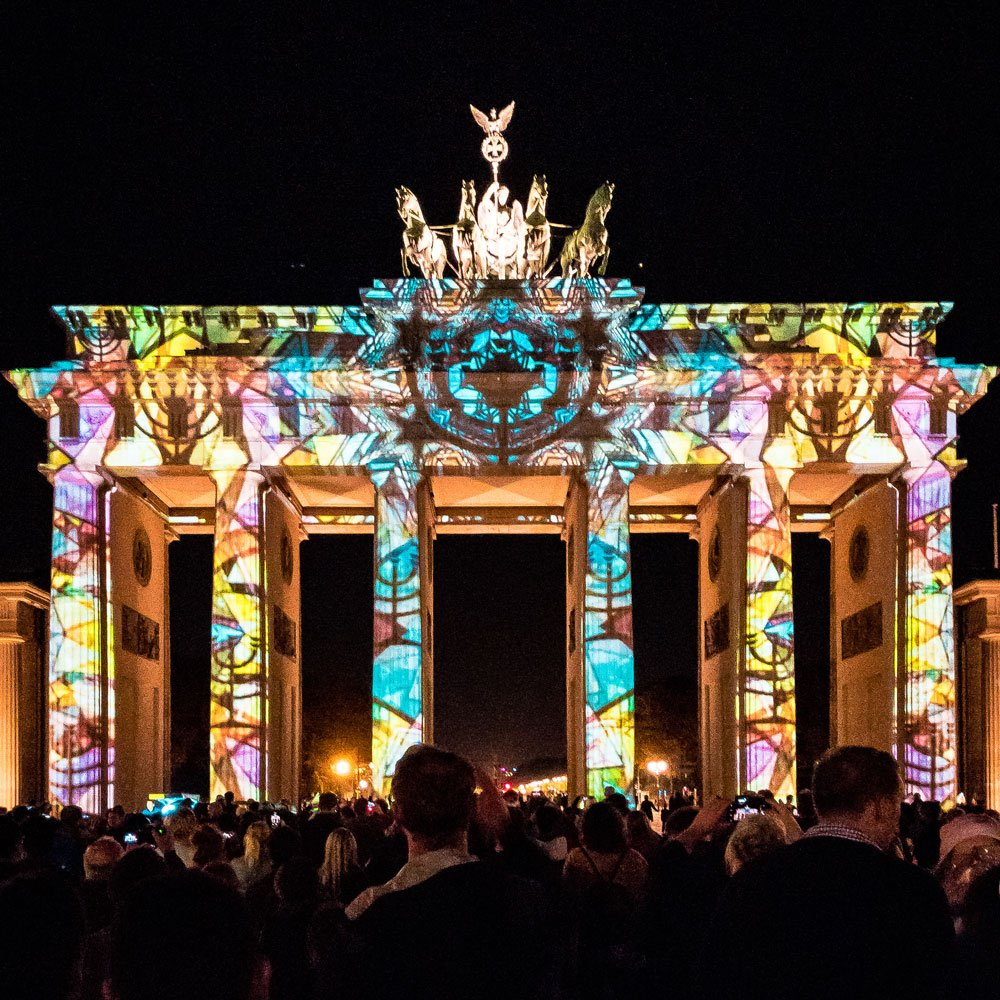 Festival of Lights 2018: Brandenburger Tor D