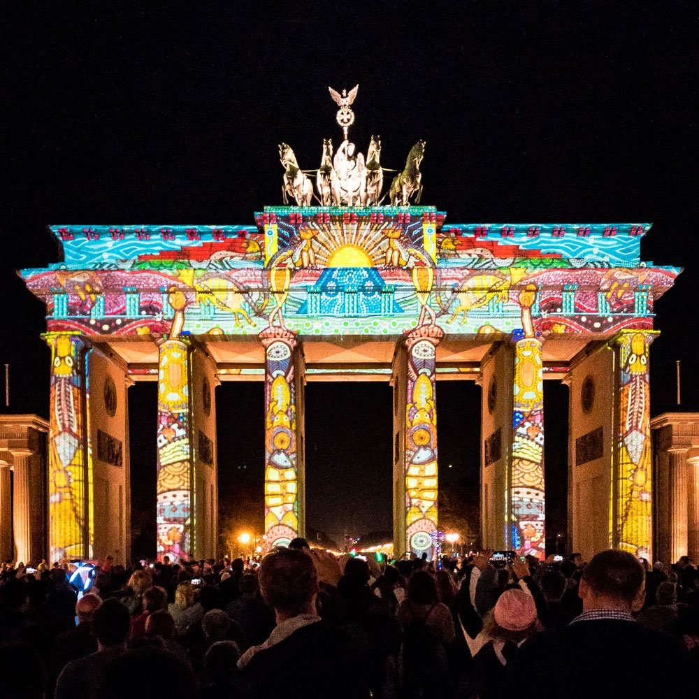 Festival of Lights 2018: Brandenburger Tor C