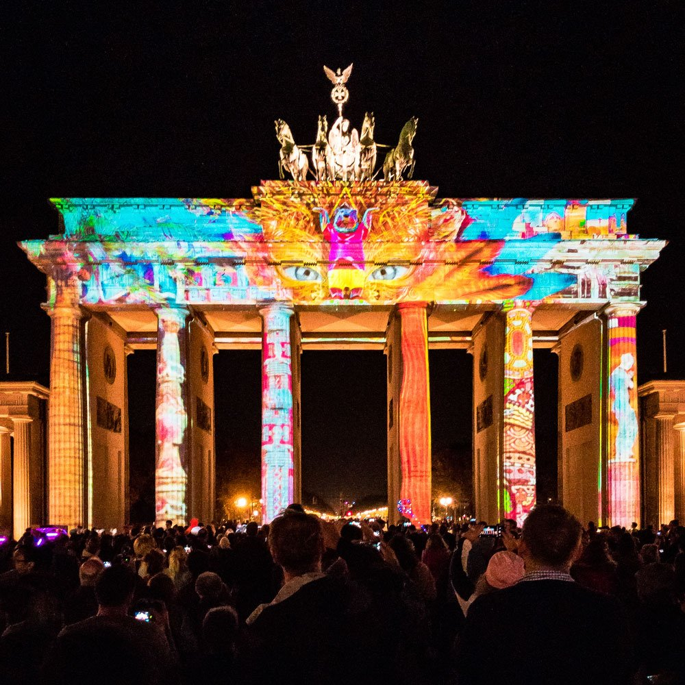 Festival of Lights 2018: Brandenburger Tor B