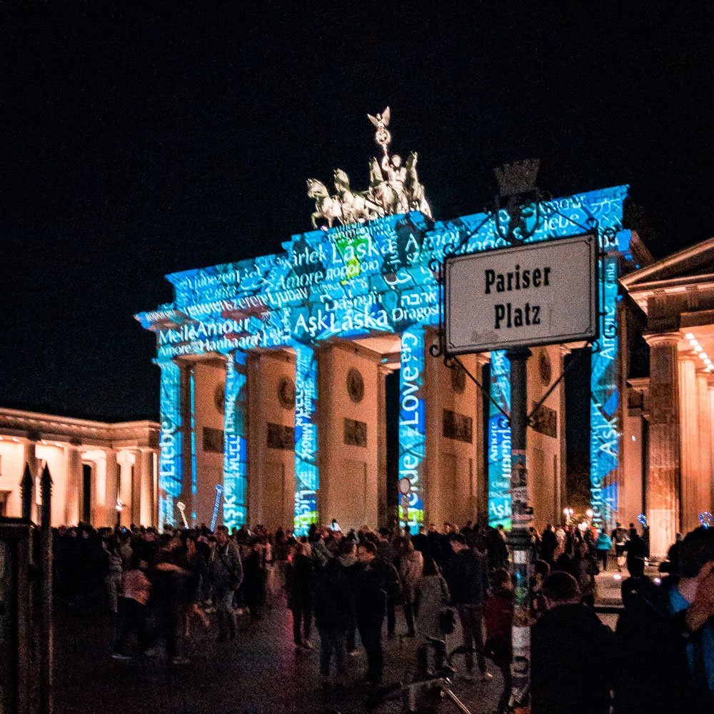 Festival of Lights 2018: Brandenburger Tor A
