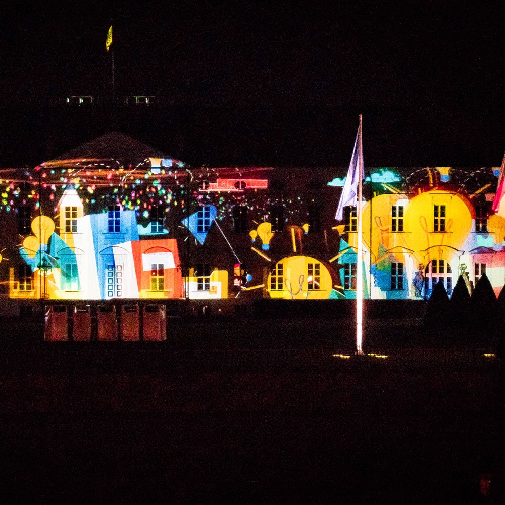 Festival of Lights 2018: Schloss Bellevue