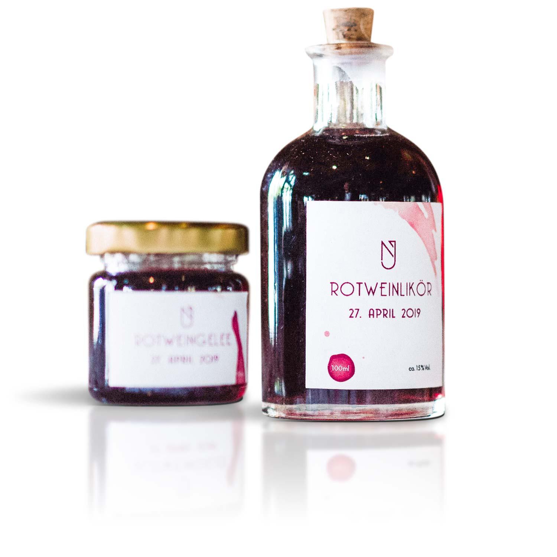 Rezept für Rotweinlikör