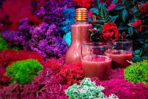 Aphrodisierender Erdbeer-Schoko-Likör