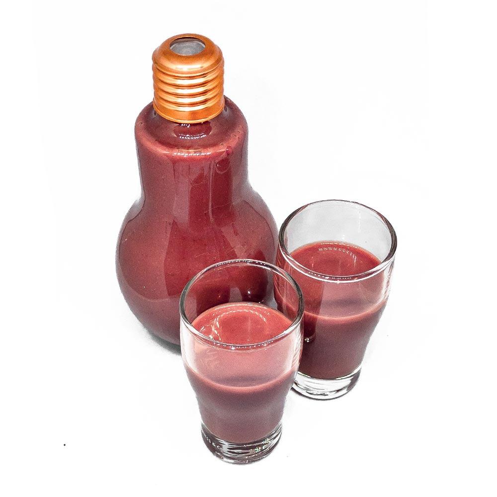 Rezept für schaerfen Erdbeer-Schoko-Likör