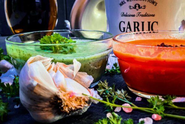 Kanarische Salzkartoffeln an Mojo-Sauce